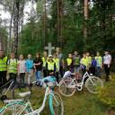 Wycieczka rowerowa Śladami historii naszej gminy